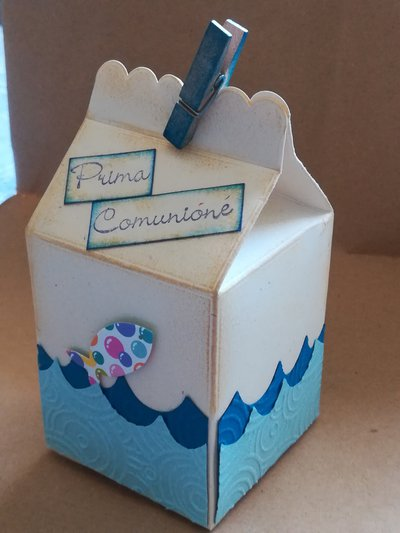 Bomboniere Milk box
