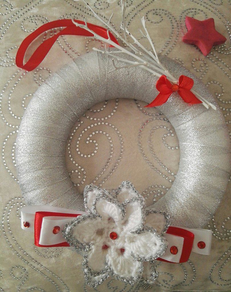 Decorazioni Artigianali Natalizie.Decorazioni Natalizie Artigianali Feste Natale Di Pinette Su