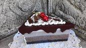 Scatola triangolare spicchio di torta