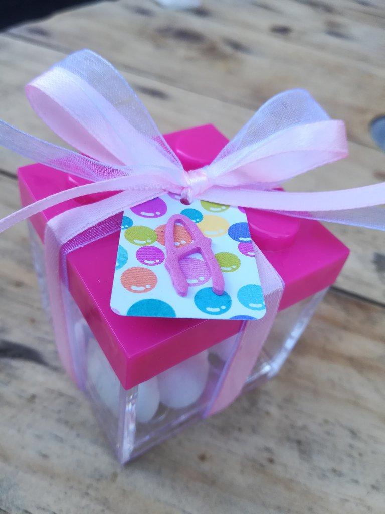 Scatolina lego porta confetti