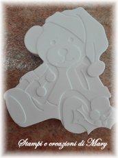 Stampo orsetto natalizio