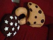 Cuscini biscotto e golosi