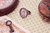 Anello zodiaco magia astrologia - Halloween gothic vittoriano shabby - Idea regalo originale