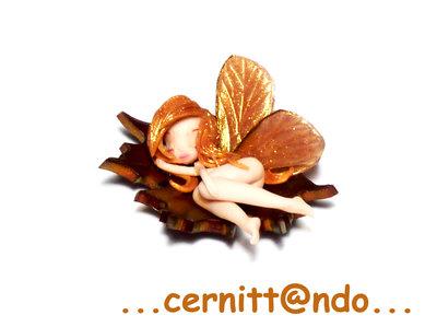 Collanina Fatina d'autunno