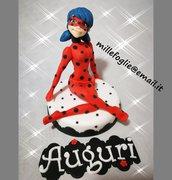 Decorazioni zucchero-Cake topper Ladybug