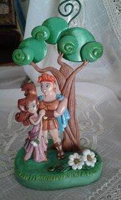 Portafoto Hercules e Megara