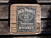 "set 6 sottobicchieri "" Jack """