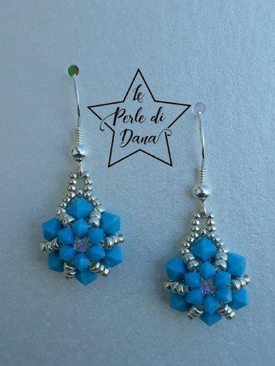 orecchini rivoli piccolo turquoise