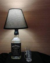 Lampada bottiglia Jack Daniel's
