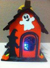 lanterna/casetta halloween in feltro