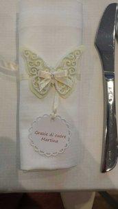 Fustellati farfalle in feltro