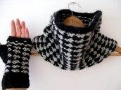Collo - Sciarpa ad anello - sciarpa unisex - sciarpa in lana - copripolsi lana