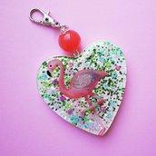Portachiavi Heart Shape Summer