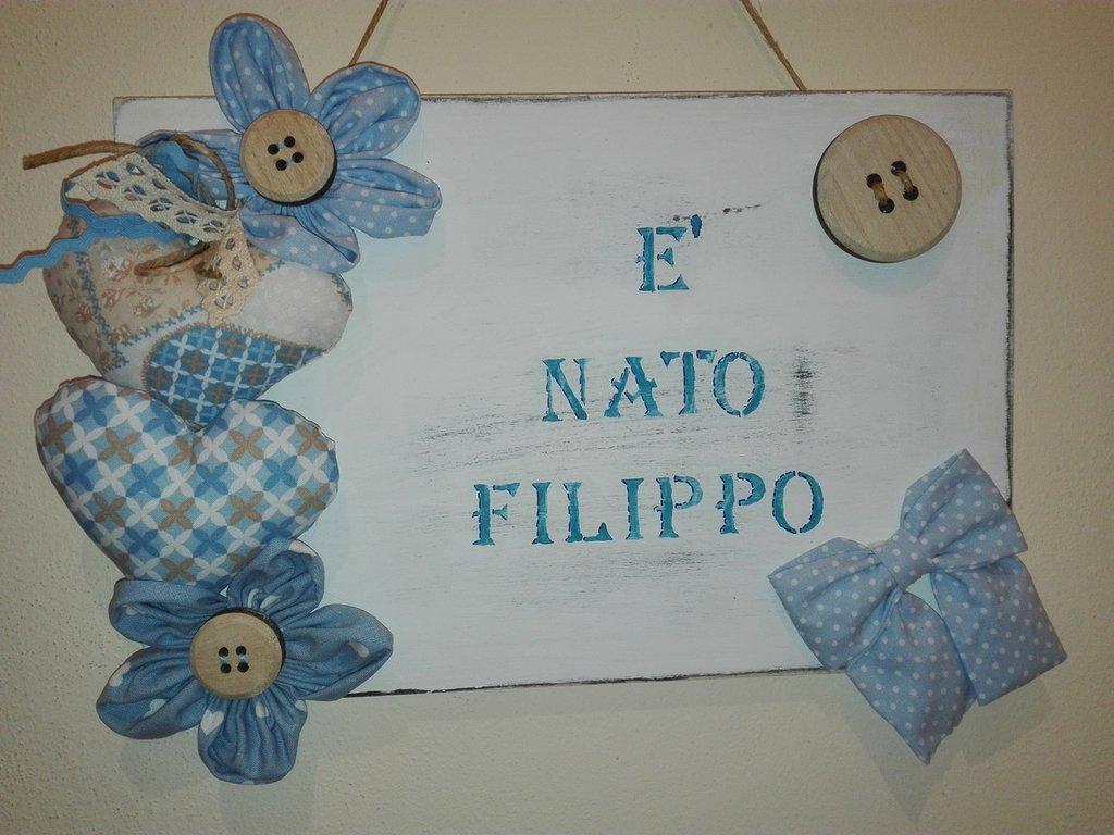 FIOCCO NASCITA CON  NOME