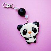 Portachiavi Panda Kawaii
