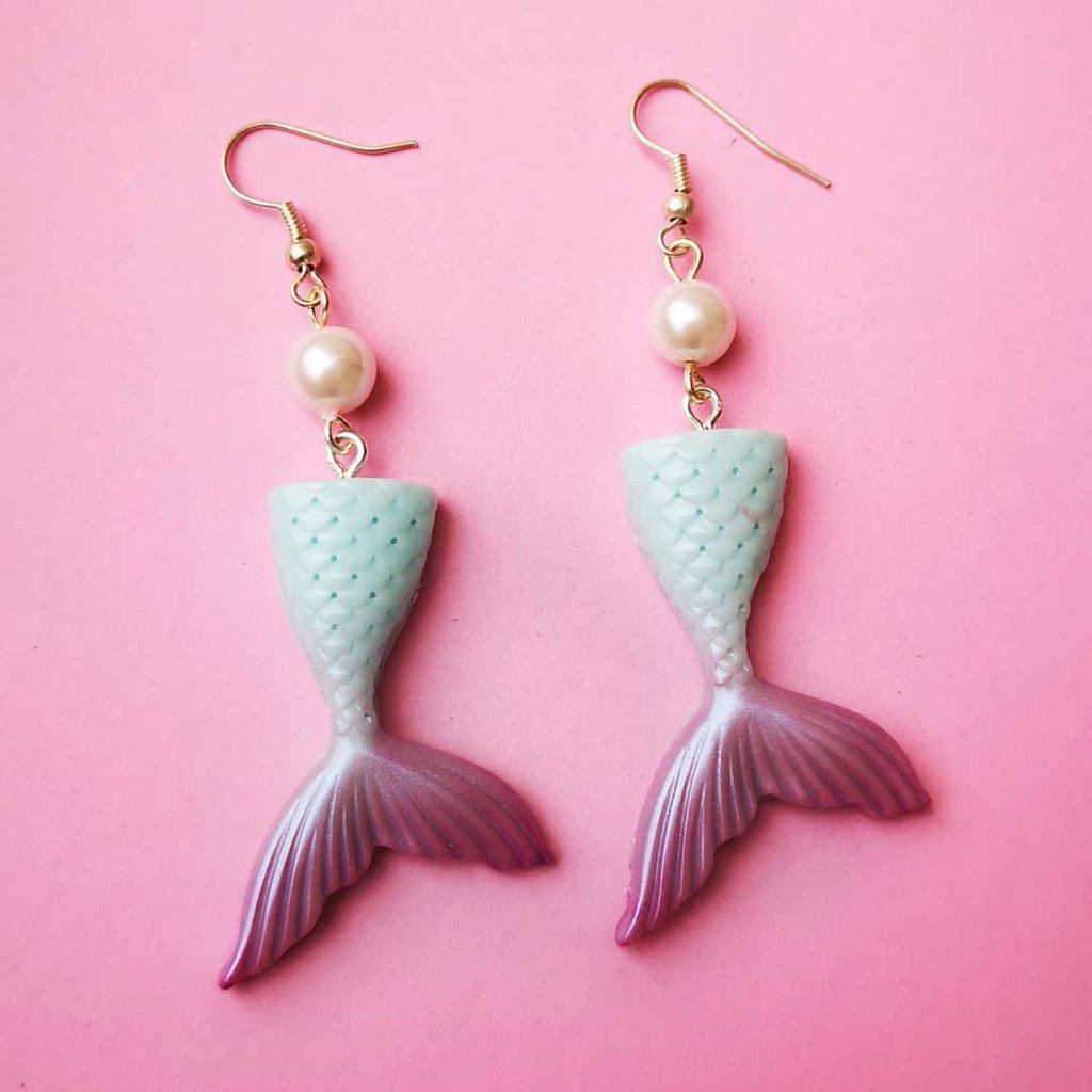 Orecchini coda Sirena