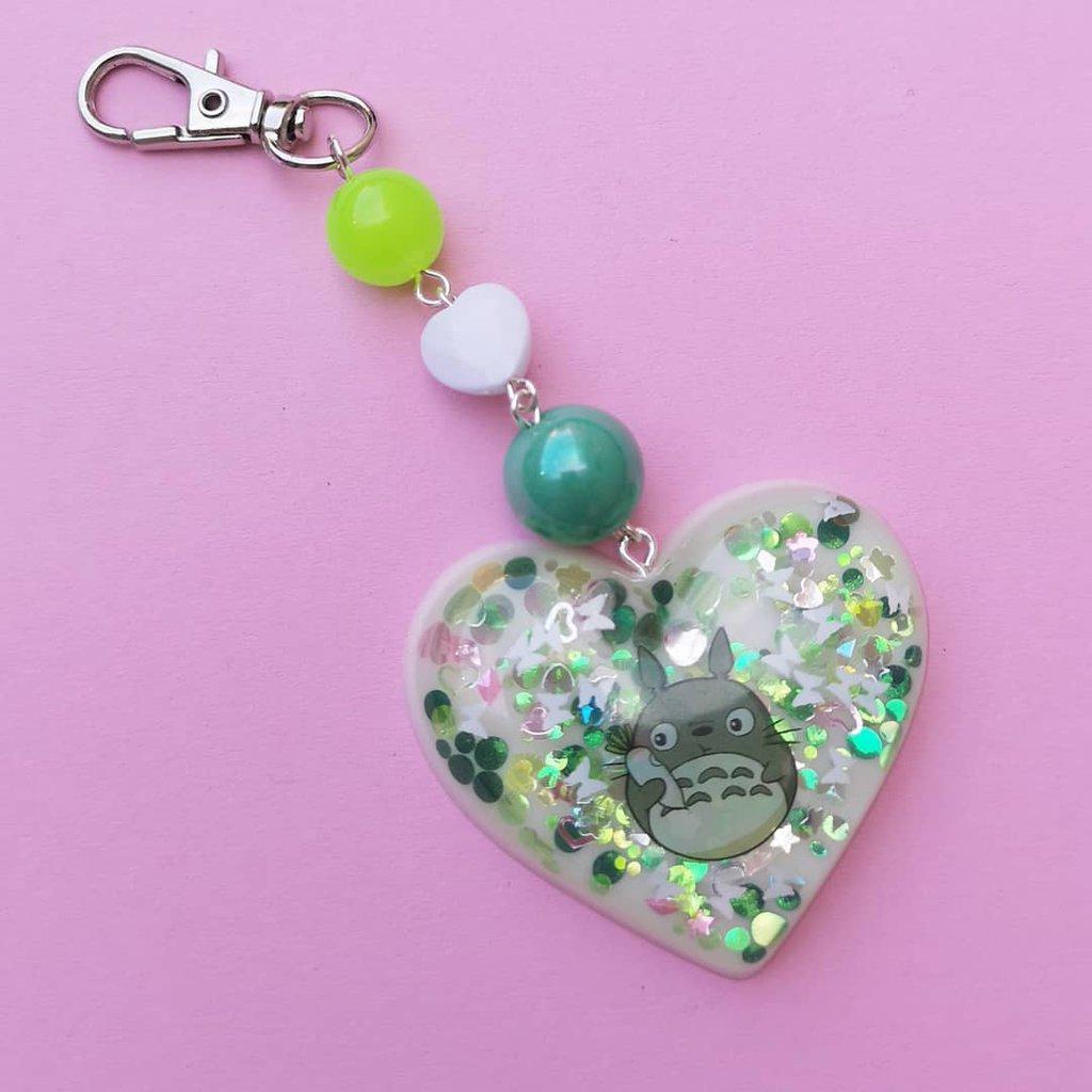 Portachiavi cuore Totoro
