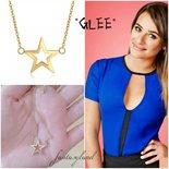 Collana GLEE stella oro Rachel berry telefilm regalo