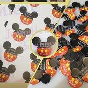 Bigliettini tag topolino compleanno