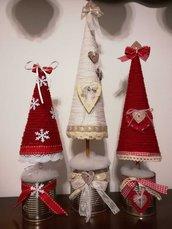 Alberello di Natale decorativo, da tavolo o finestra