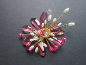 Collezione Natura - Spilla Rosa
