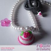 Wedding Cake Necklace