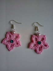 orecchini piccoli fiori