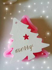 gessetti profumati albero di natale renna merry christmas decorazioni natalizie