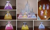 Favors Party: scatolina Principesse porta caramelle o confetti per compleanni