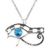 Collana ciondolo OCCHIO DI HORUS amuleto protezione regalo egizi gioielli