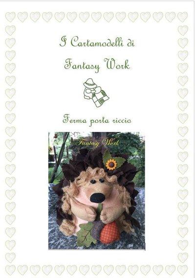 CARTAMODELLO RICCIO FERMAPORTA - versone PDF