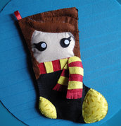 calza della befana - calza di natale - harry potter - 1 - pensieri per natale!