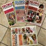 LOTTO 1 - 4 riviste al costo di 2 -  TRIMESTRALE FELTRO CREATIVO FACILE