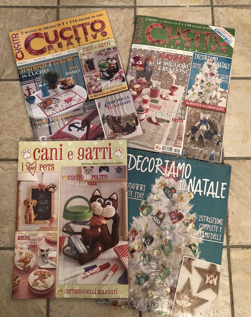 LOTTO 3 - NR. 2 riviste al costo di 1 -  CUCITO CREATIVO