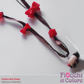 Red Sheep Necklace