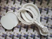 Stampo per gesso e resina specchio con manico