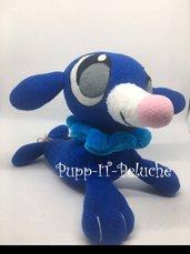 Peluche ispirato a POCKEMON POPPLIO - Sole e Luna - Blu -