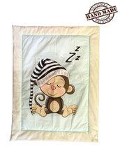 Coperta per bebè, soffice e morbida, dimensione 120x90cm, copertina per culla, lettino, passeggino / Ottima idea regalo / Sacca portapigiama inclusa