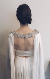 copri spalle da sposa