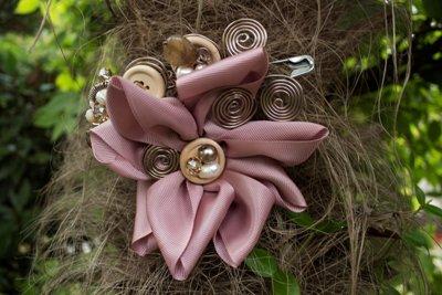Collezione Natura - Spilla Rosa Fashion