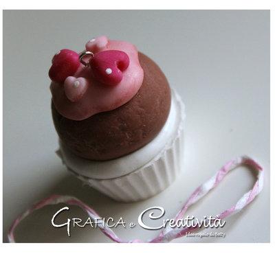 Segnaposto/decorazione mini cupcake