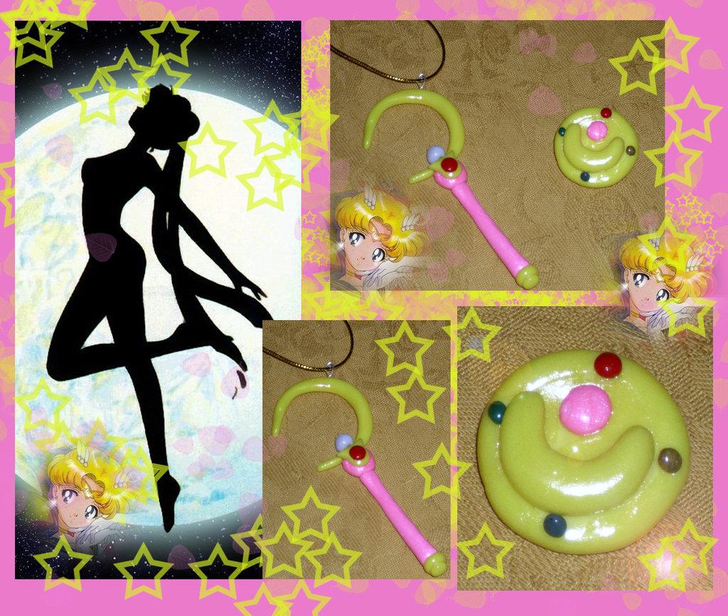 ciondolo e spilla Sailor Moon