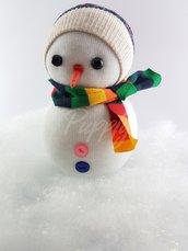 Barfi - pupazzo di neve realizzato a mano