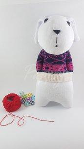 Khengool coniglietto realizzato a mano