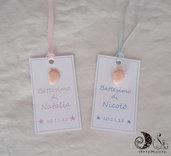 etichette battesimo nascita bimba e bimbo piedini personalizzabili