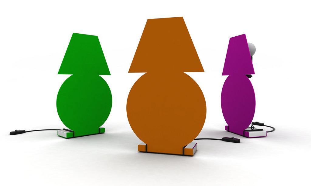 LAMPADì - Lampada allegra ed originale (Caoscreo)