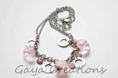 Collana rosa
