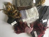 Sciarpe di pura lana merino