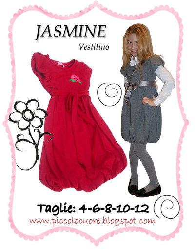 CARTAMODELLO JASMINE