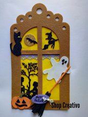 Fuoriporta Halloween  benvenuto in feltro e fommy
